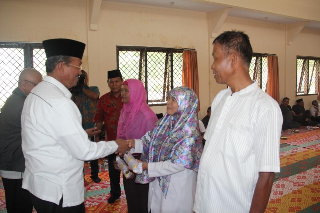Bupati Solok, Gusmal di kegiatan Halal Bi Halal Dinas Pertanian Kabupaten Solok.
