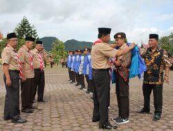 Pramuka Kwarcab 0302 Kabupaten Solok Wakili Sumbar di KBN 2017