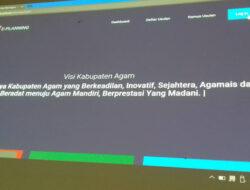 Kabupaten Agam Rilis Aplikasi e-Planning