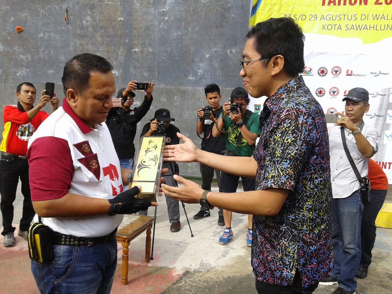 Kejuaraan Nasional (Kejurnas) Kelompok umur Panjat Tebing ke XII Sumatera Barat