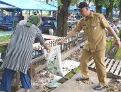 Dibersihkan, Tali Bandar di RTH Imam Bonjol