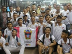 Liga Pelajar Menpora, PSP Padang Lolos Delapan Besar