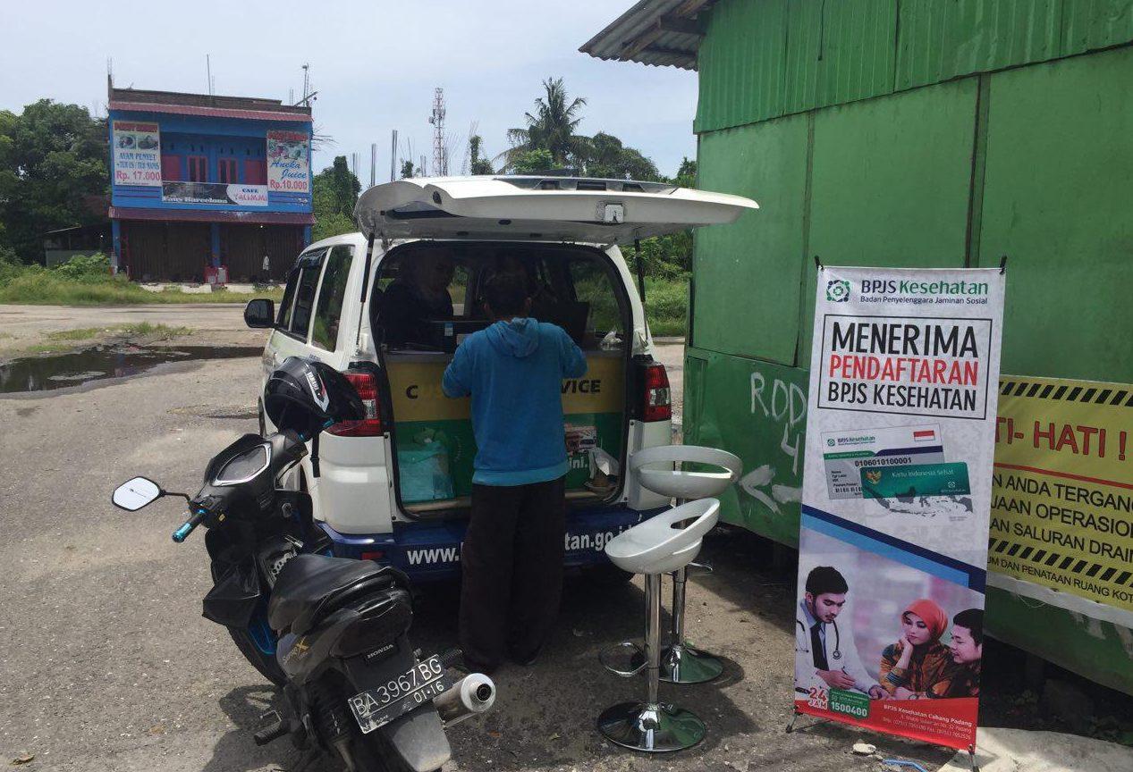Bpjs Kesehatan Gelar Layanan Mobile Customer Service Di Padang