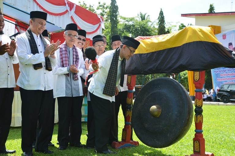 Bupati Agam Indra Catri resmi meluncurkan program Nagari Madani di Kabupaten Agam