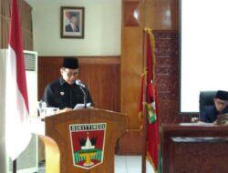 Walikota Sampaikan Perubahan Ranperda RPJMD ke DPRD Bukittinggi