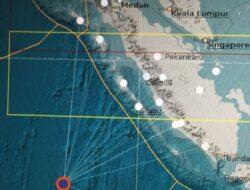 Terjadi Gempa di Sebelah Barat Daya Mentawai