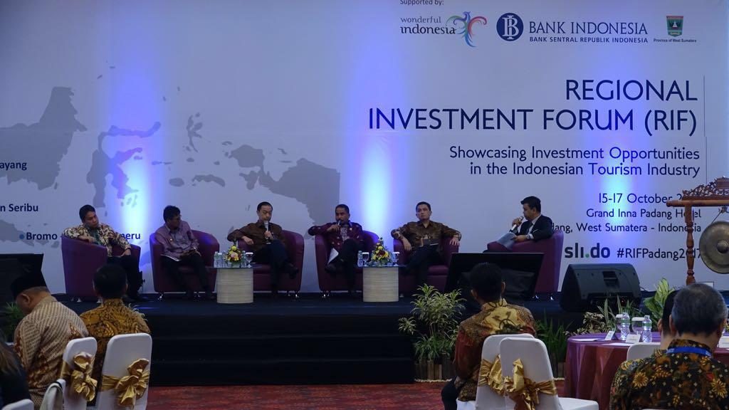 Regional Investmen Forum (RIF) 2017 di Kota Padang