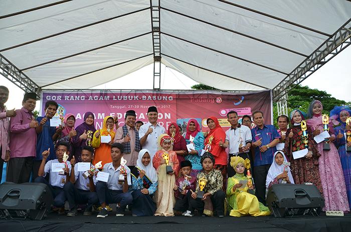Para pemenang Agam Education and Culture Expo 2017