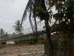 Akhirnya, Jembatan Penghubung Baringin-Lalang Bisa Dilewati