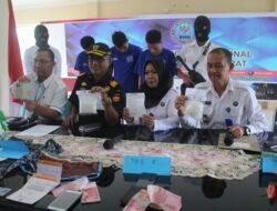 Enam Bulan Lolos, Kurir Sabu Asal Aceh Ditangkap BNNP Sumbar