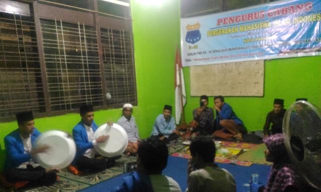 Peringatan Hari Lahir (Harlah) Pergerakan Mahasiswa Islam Indonesia (PMII) ke-58 di Kota Pariaman. Foto : Istimewa