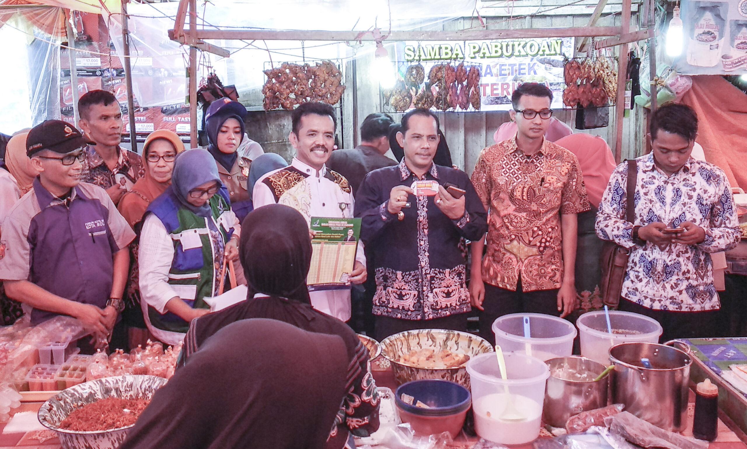 BPOM Sumbar dan Pemko Solok menggelar sidak di sejumlah pasar di Kota Solok, Sumatera Barat, Photo : Fernandez