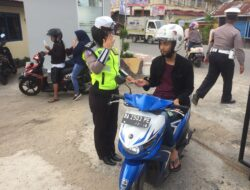 Operasi Patuh Singgalang, Polres Solok Kota Tindak 558 Pelanggar Lalu Lintas