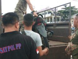 Balapan Liar, Tujuh Remaja Diamankan Satpol PP Padang