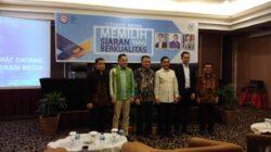 Literasi Media 'Memilih Konten Berkualitas' bagi Wartawan Sumatera Barat yang digelar oleh Komisi Penyiaran Indonesia (KPI) di Pangeran Beach Hotel, Padang, Rabu (2/5/2018). Foto : Al Ikhlas Saputra