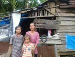 Nasib Muna, Janda 4 Anak asal Pangian yang Tinggal di Rumah tak Layak Huni