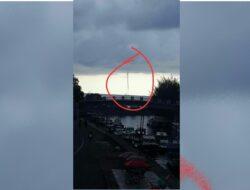 Dikira Tornado, Ternyata Bukan !