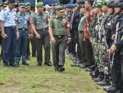 Apel Gabungan Pengamanan Presiden Joko Widodo