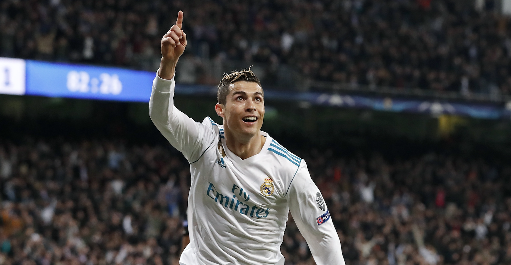 Cristiano Ronaldo, salah satu pemain andalan Real Madrid.