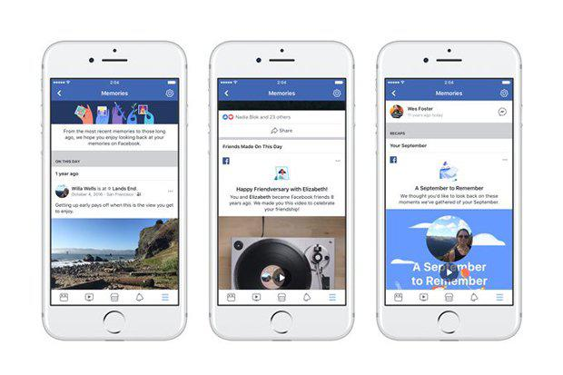 Fitur melacak kenangan Anda bagikan di Facebook. Photo : Net.