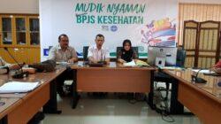 Kepala Cabang BPJS Kesehatan Kota Padang, Sistri Sembodo memberikan keterangan pers. Foto : Humas BPJS Kesehatan Padang