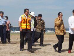 Presiden RI Joko Widodo Tinjau Runway 3 Bandara Soekarno-Hatta
