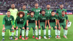 Arab Saudi bermain pada pertama kali Piala Dunia sejak 2006. Photo : Getty Images.