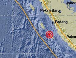 Gempa Mentawai Akibat Thrust Fault