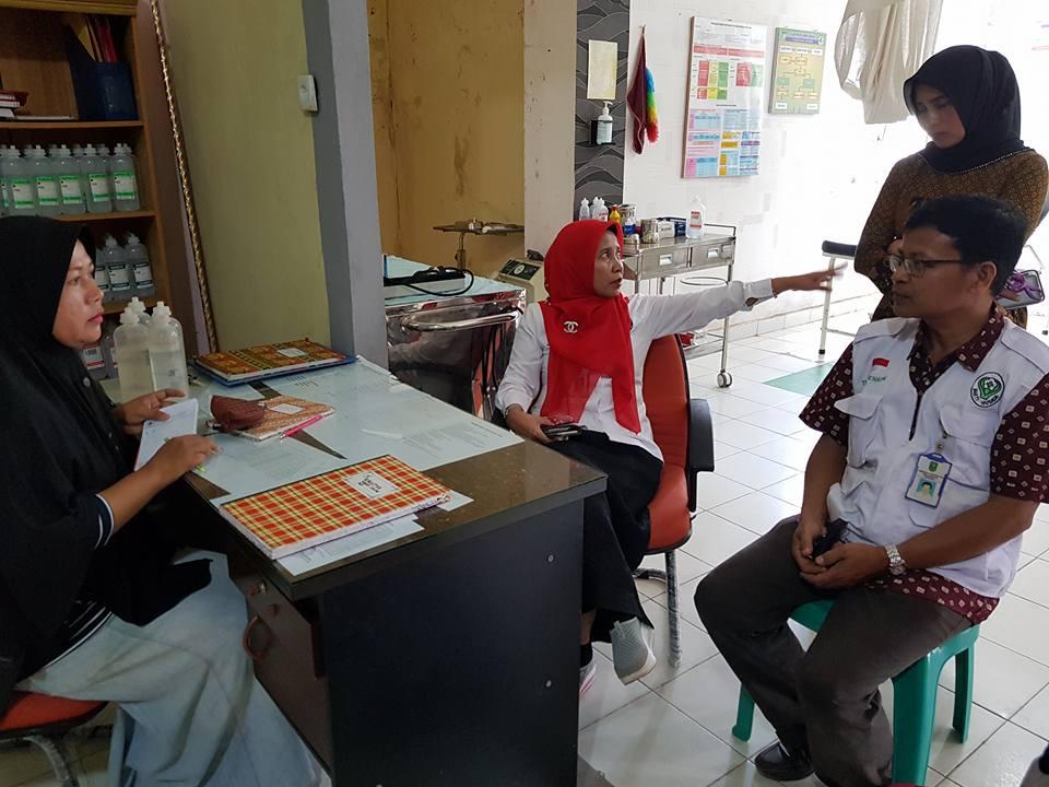 idak kesiapan puskesmas dan peninjauan lapangan posko mudik Operasi Ketupat Muara Takus 2018 di Wilayah Kampar dimulai Tapung, Bangkinang dan sekitarnya bersama Kadiskes Provinsi Riau, Senin (11/6/2018)