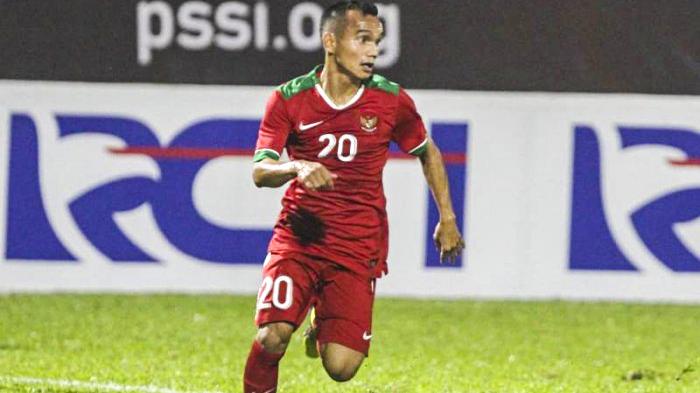 Riko Simanjuntak saat bersama Timnas U-23 melawan Thailand, Kamis (31/5/2018) di Stadion PTIK, Jakarta. Photo : Persija.
