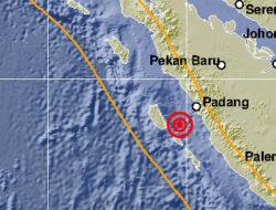 Padang Bergoyang, Gempa Enam Kali Sepanjang Malam