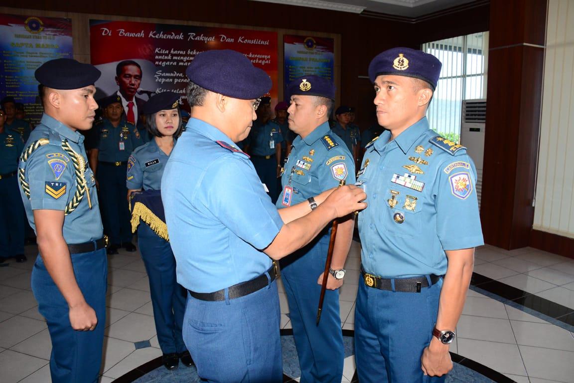 Jabatan Asisten Operasi Danlantamal Ii Padang Diserah Terimakan