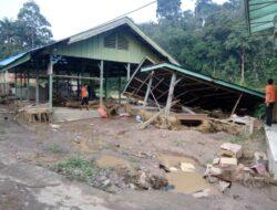 Puluhan Unit Rumah di Sijunjung Rusak Berat Akibat Sungai Meluap