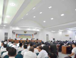 DPRD Rapat Paripurna Bahas Nota Penjelasan APBD Tanah Datar 2017