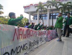BEM KM Unand Demo Tuntut Realisasi Nawacita Jokowi-JK
