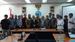 Asosiasi Media Siber Indonesia (AMSI) mendatangi Gedung Dewan Pers untuk menyerahkan pendaftaran berkas-berkas organisasi sebagai syarat konstituen Dewan Pers di Gedung Dewan Pers, Jakarta, Senin 27 Agustus 2018. Foto : Istimewa