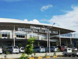 Tower ATC Roboh, Bandara Mutiara SIS Al-Jufrie Palu Tutup