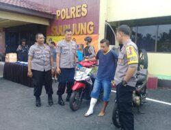 9 Hari Buron, Kaki Pelaku Curanmor Ditembak Polisi