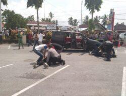 Massa Serang Mapolres Solok Kota, Dua Orang Ditangkap