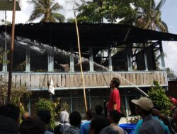 Kebakaran di Kotobaru, Empat Rumah Hangus