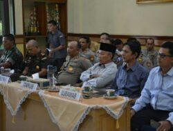 Dengar Arahan Kapolri Dan Panglima TNI, Ini Yang Dilakukan Forkopimda Tanah Datar