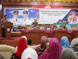 Dinas Sosial Kota Pariaman Gelar Bimtek SLRT dan Puskesos 2018
