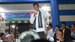 Ustaz Abdul Somad Lc. Ma (UAS) saat memberikan tausiah di Masjid Nurussalam, Jorong Seroja, Lubuak Jantan, Lintau Buo Utara, Tanah Datar, Sumbar