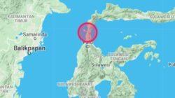 Pusat Gempa di Palu dan Donggala, Sulawesi Tengah.