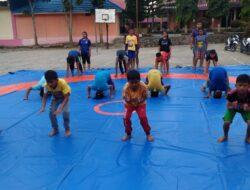 Porprov 2018, Gulat Kabupaten Solok Optimis Dulang 10 Emas