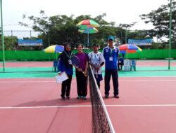 Soft Tenis Tanah Datar Kembali Raih Kemenangan Di Tunggal Putri