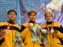 Tiga Petarung Tanjung Bonai, Kumpulkan 3 Medali Untuk Tanah Datar