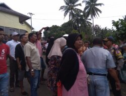 Ricuh, Ratusan Warga Jorong Sitakuak Dihalau Aparat