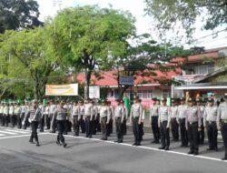 Polres Tanah Datar Gelar Apel Kesiapan Pengamanan TDS 2018