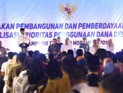Pemerintah Tingkatkan Anggaran Dana Desa